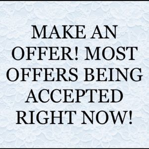 HURRY, send your offers!!
